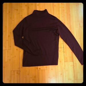 Pendleton cashmere blend mock turtleneck sweater